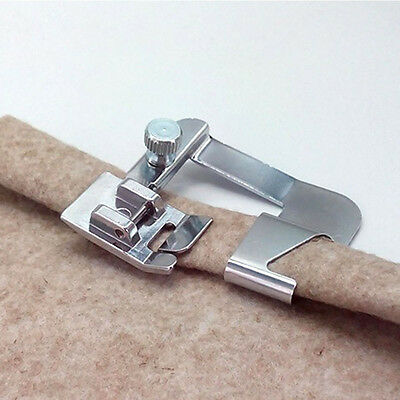 """Hot Practice Domestic Sewing Parts Rolled Hem Foot Sewing Tools 4/8"""" Hemmer Foot"""