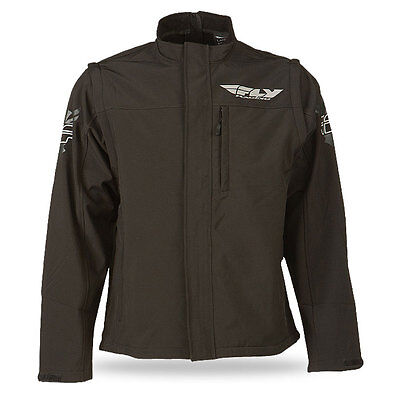 Fly Racing Adult Black WindProof Offroad Adventure Motorcycle Riding Jacket