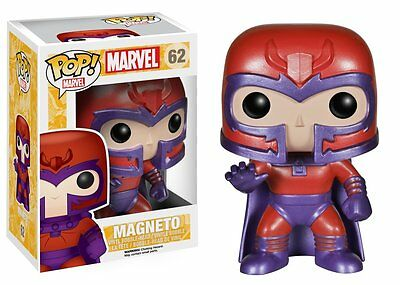 Funko Pop Marvel Magneto Bobble-head Vinyl Action Figure Toy #62