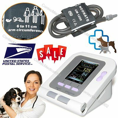 Vet Veterinary Blood Pressure & Heart Beat Monitor Animal NIBP Monitor CONTEC08A