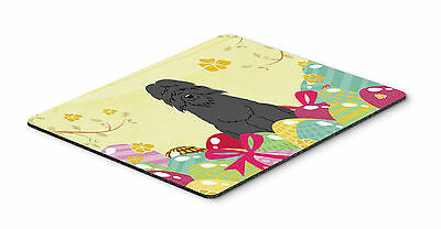 Easter Eggs Bouvier des Flandres Mouse Pad, Hot Pad or Trivet