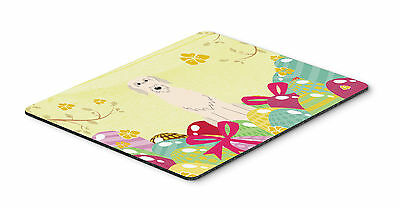 Easter Eggs Irish Wolfhound Mouse Pad, Hot Pad or Trivet