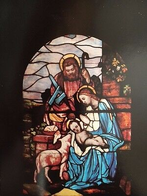 Antique church stained glass-1900's