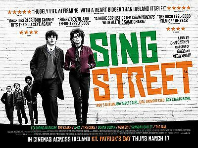 Sing Street Movie Poster 3 - Various Sizes - Price Includes Uk Postage
