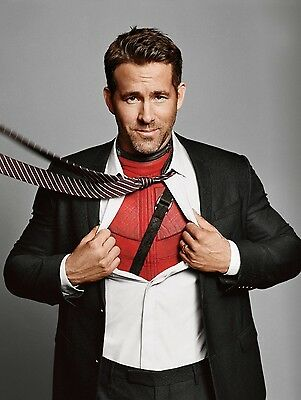 Ryan Reynolds Poster 2 - Various Sizes - Price Includes Uk Postage