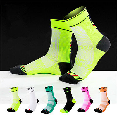 Sports Cycling Socks Sports Socks Bike MTB Protect Breathable Compression 2017