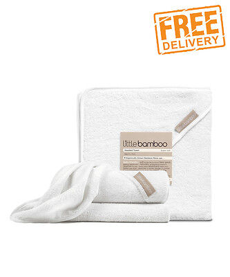 NEW Little Bamboo Hooded Towel