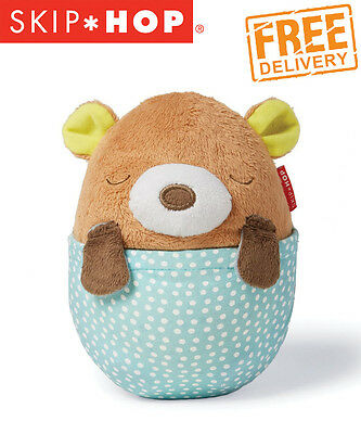 NEW Skip Hop Moonlight & Melodies Hug Me Projection Soother - Bear