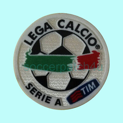 Calcio Serie A 2005-08 Patch Flock AC Milan, Juventus, Inter Milan Soccer badge