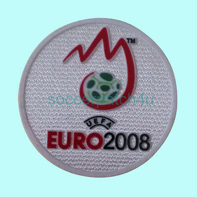 UEFA Euro Champions 2008 Football Sleeve Soccer Patch / Flock Badge