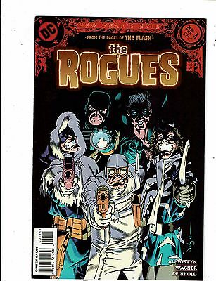 Lot of 2 New Year's Evil DC Comic Books #1 The Rogues+1 Dark Nemesis BH53