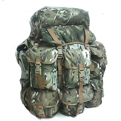 Alice Pack Multicam Xl Full Set With Shoulder Straps, Waist Belt And Frame - Tas