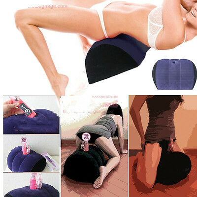 Sex Aid Pillow Cushion Hole Bolster Love Position Couple Game Toy Fantasy