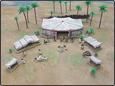 28Mm Crusader Army Camp - 'painted To Collectors Standard'