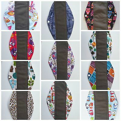 New Cloth Menstrual Pad Bamboo Mama Cloth Sanitary Liner- Heavy -Aussie Seller
