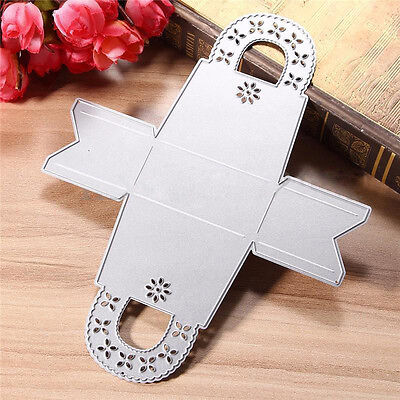 Gift Box Metal Cutting Dies Stencils Scrapbooking Embossing Card Decor Craft DIY