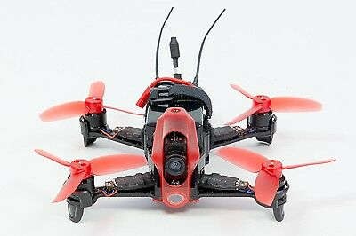 Walkera FPV Racing-Quadrocopter Rodeo 110 RTF - FPV-Drohne mit HD-Kamera, Akku,
