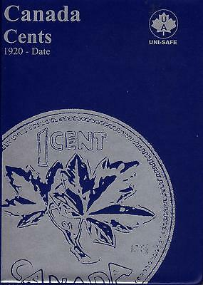 Set of Canada Small Cents (1920-1972) in Blue Uni-Safe Folder/Book