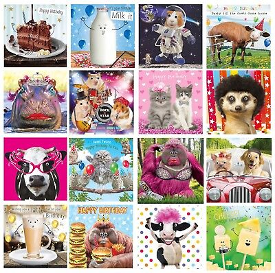 Gogglies 3D Moving Eyes Birthday Card 16 Designs To Choose From 1St P&p L@@k
