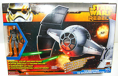 STAR WARS Rebels - The Inquisitor Actionfigur + TIE Advance Prototype NEU (L)