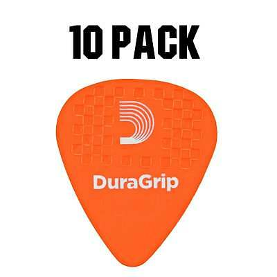 D'Addario Planet Waves DuraGrip Plectrum Pack - 10 Pack - Light .60mm
