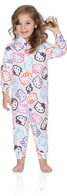 Komar Kids Big Girls' Hello Kitty Hooded Fleece Blanket Sleeper
