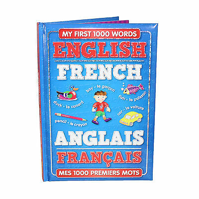 My First 1000 Words English - French Children's Book 3yr+