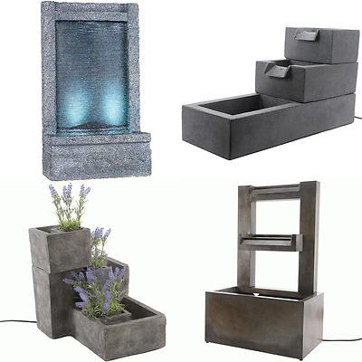 Outdoor Classic Styled Premium Water Fountain Features Garden Patio Decorations