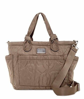 Marc by Marc Jacobs Eliza Baby Diaper Bag Tote QUARTZ GREY NWT RP $298