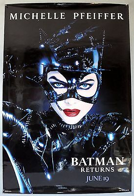 Batman Returns - Michelle Pfeiffer - Original American One Sheet Movie Poster