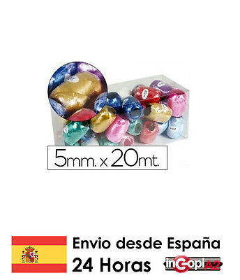 PACK BARRILETE LAZO REGALO SURTIDOS 0.5mm 20m