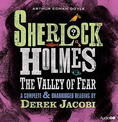 Sherlock Holmes-The Valley Of Fear--6 Cd Audio Book  Brand  New Sealed