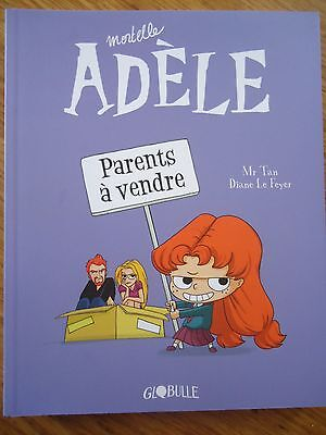 BD MORTELLE ADELE **** tome 8 Parents à vendre **** TAN PRICKLY GLOBULLE