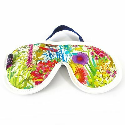 Famous Liberty London Fabric Tresco Tana Lawn Print Cotton Padded Eye Mask