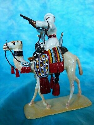 Lead toy soldier - French camel corps 1930 - Colonial history 7 -
