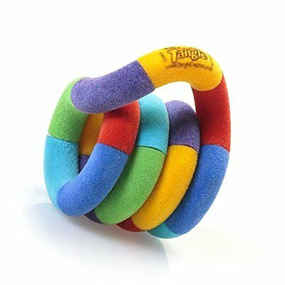 TANGLE FUZZIES STRESS TOY - Colourful Destress Toy Twistable And Turnable!