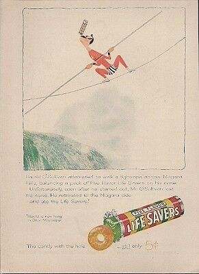 Life Savers Candy with the Hole Still Only 5 Cents Vintage Ad 1957