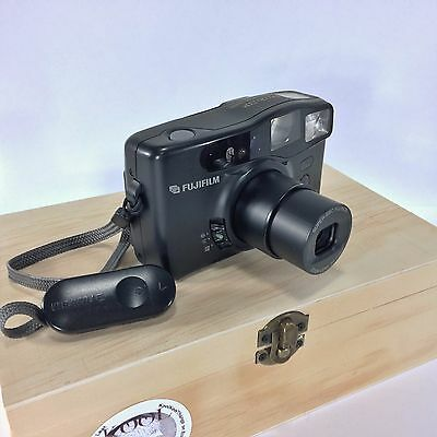 Fujifilm DL-270 35 mm Camera Zoom Point and Shoot 1994 VTG Panorama Tested Works