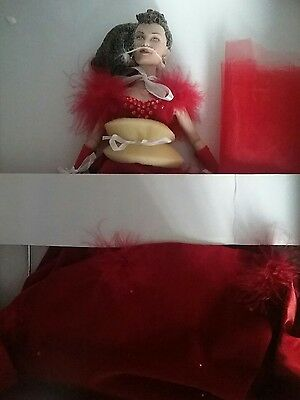"""Red Shame/Receiving NIB Tonner Scarlett 16"""" doll Gone with the Wind GWTW=RARE"""