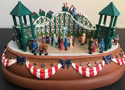 Liberty Falls Collector's Club Roller Coaster  Music Box