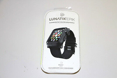 Lunatik EPIK Case and Band for Apple Watch 42mm EPIK-006 - Black