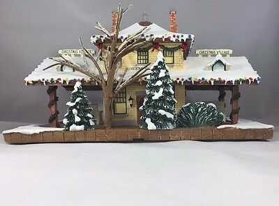 Norman Rockwell Christmas Village Collection Christmas Village Train Station