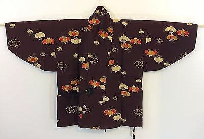 Authentic Japanese wine red dochugi jacket, Japan import, good condition (H1188)