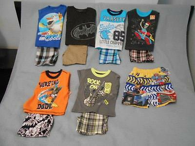 Mixed Lot of 6 NWT Summer Outfits & Swimsuit Boys Size 2T