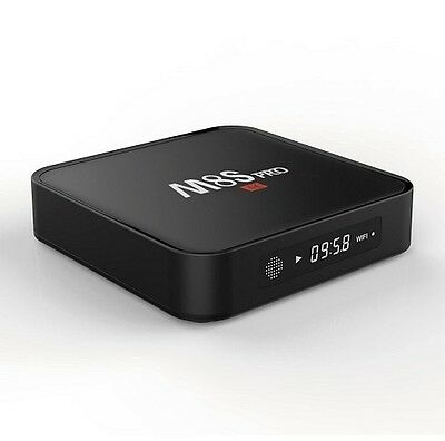M8S Pro 4K Con Display Android Internet Tv Smart Box 2Gb / 8Gb Decoder Iptv Spg