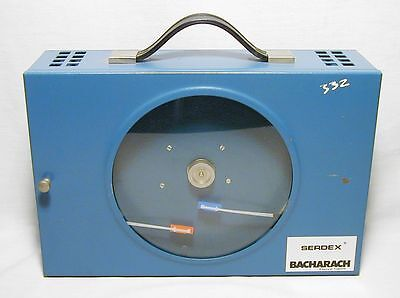 Serdex Bacharach 22-7078 Temp/RH Chart Recorder, inherently safe, spring-wound f