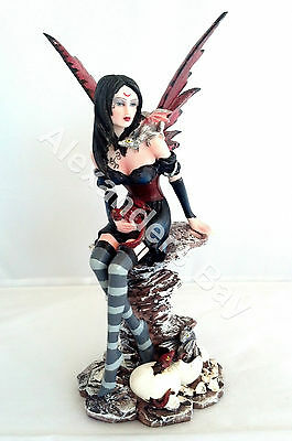 "10"" Inch Fairy & Dragons Statue Figurine Figure Fairies Magic Mythical Fantasy"
