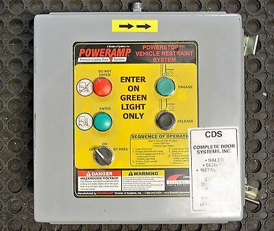 POWERAMP POWERSTOP  Vehicle Restraint System Control Box Loading Dock Control
