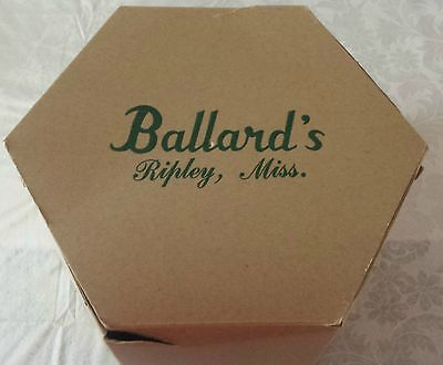 "Vintage ""Ballard's"" Department Store Cardboard Hat Box"