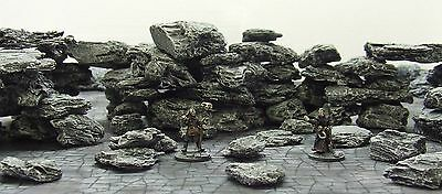 Small 'rock & Boulder Pack' - Fantasy Terrain - Painted To Collector's Standard